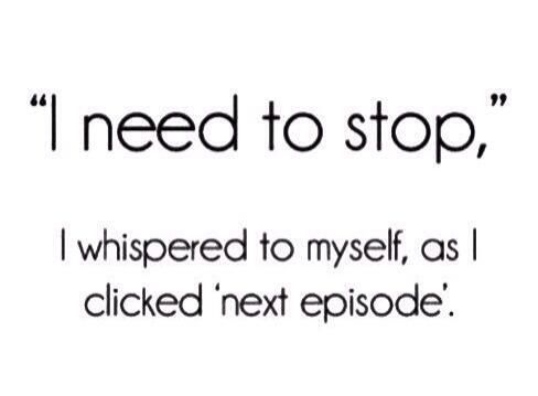 Binge-ing on TV Shows