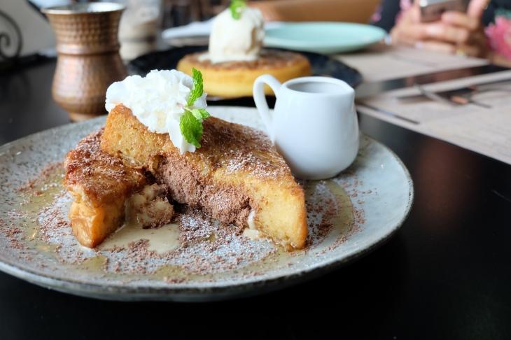 Tiramisu french toast